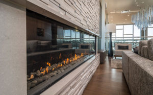 Fireplace design - commercial - hotel